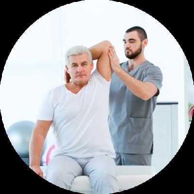 Chiropractor focusing on the patient's Chiropractic Adjustment at De La Torre Chiropractic Center in Totowa NJ
